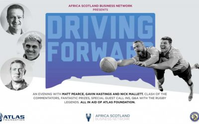 ASBN Presents Driving Forward-An evening with Matt Pearce, Nick Mallett and Gavin Hastings in support of the Atlas Foundation